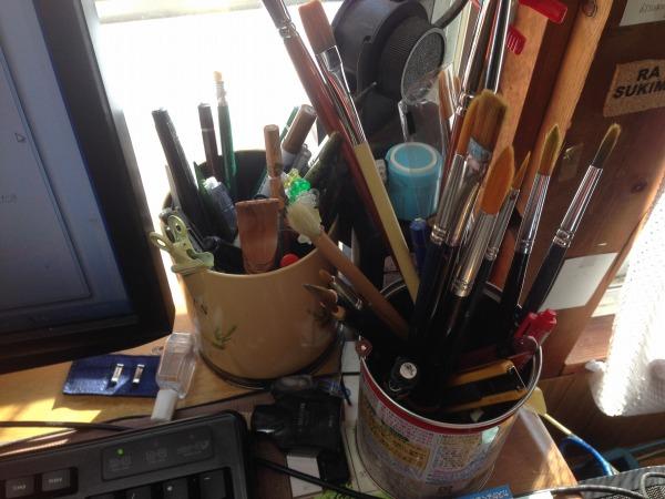 筆の手入れの仕方 水彩・習字・化粧筆の基本