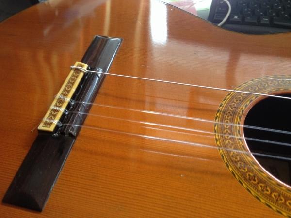 ギター弦張替え