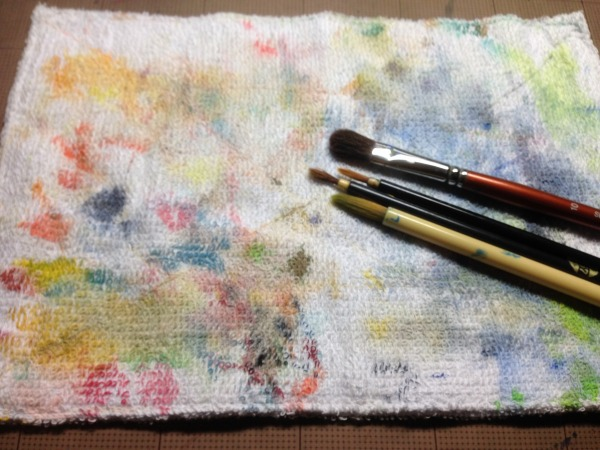s-筆と雑巾