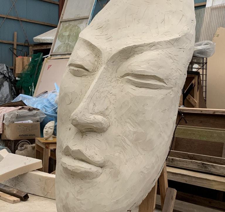 粘土 彫刻