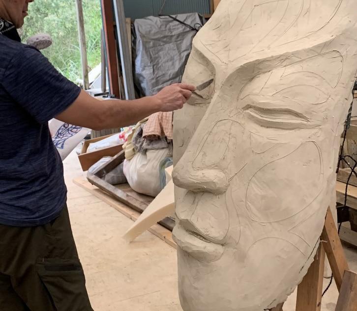 彫塑 粘土