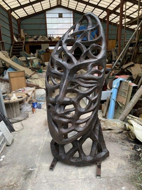 FRP造形彫刻の作り方・製作工程を一気に解説
